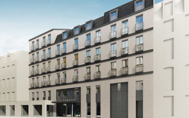 4 Star Hotel  – Rue du Temple – Paris 3rd arrdt