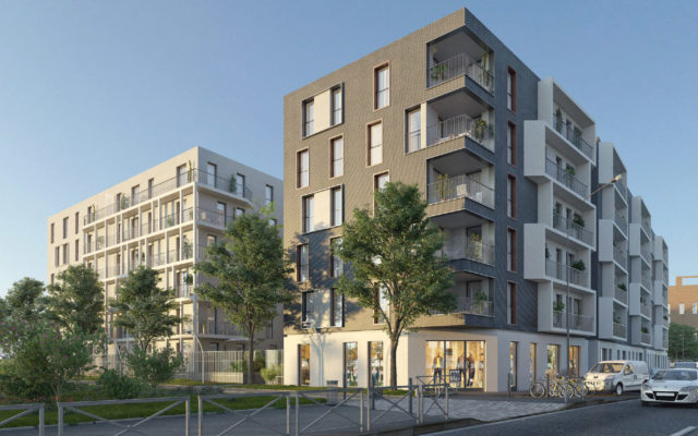 Residential buildings Le Julia – Faubourg 94