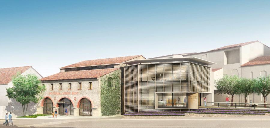 Médiathèque municipale Biot Sophia Antipolis