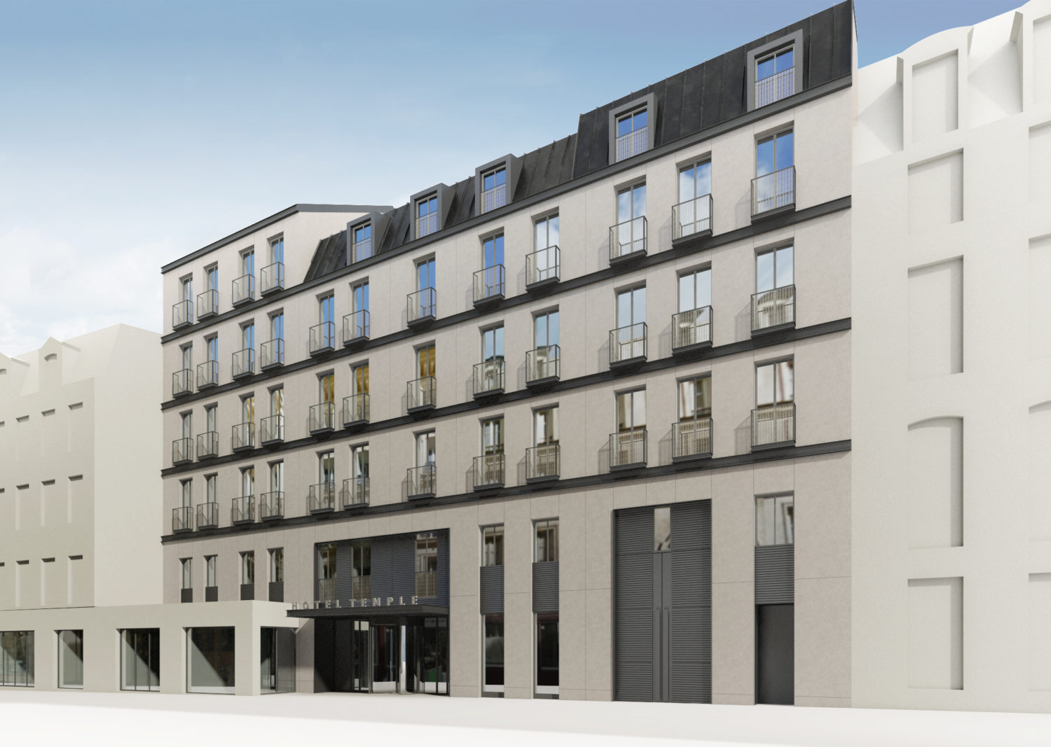 Planning permission Temple Hotel ****