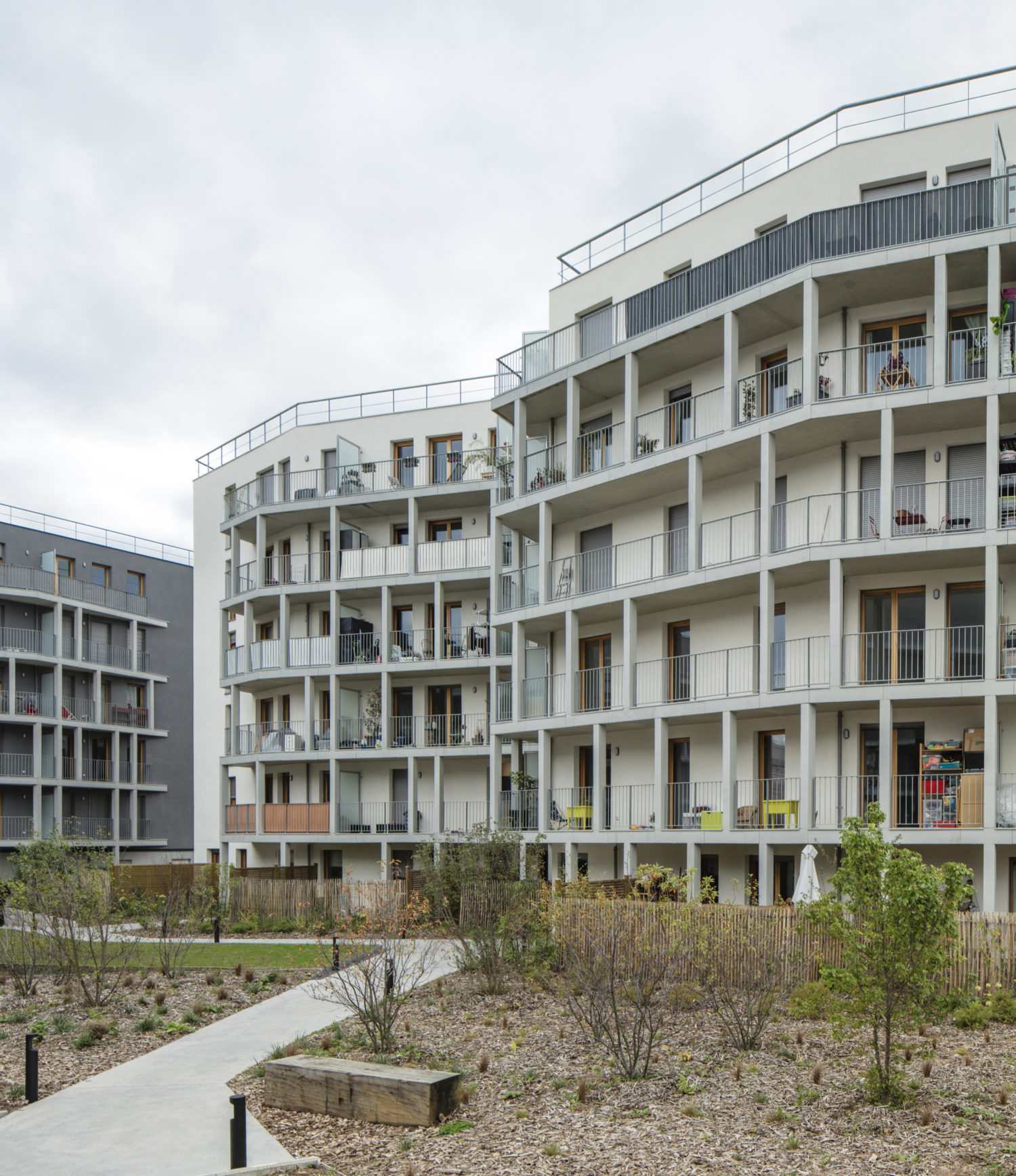 Inauguration of the residential buildings Le Julia – Faubourg 94
