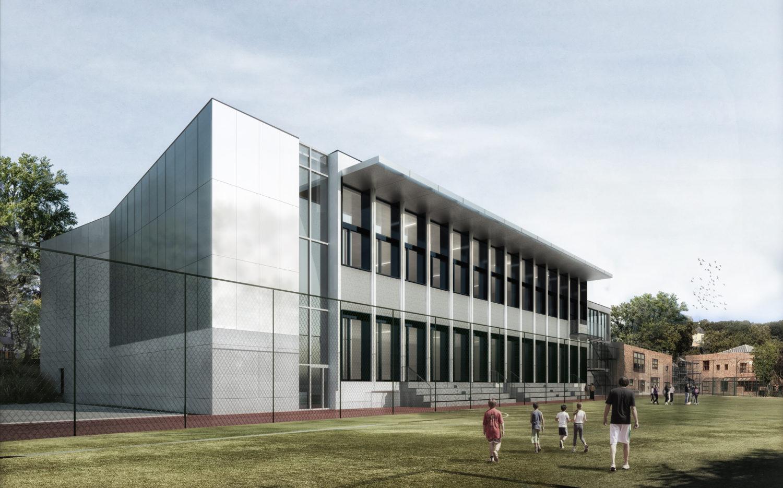 Permis de construire pour la réhabilitation et l'extension d'un complexe sportif à Ville d'Avray